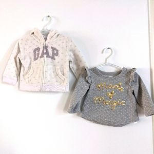 Baby Gap sweaters set of two